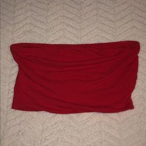 Tube Top Fashion Nova ; Red